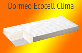 Materac Dormeo Ecocell Clima opinie