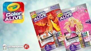 Kolorowanka Crayola Color Alive opinie