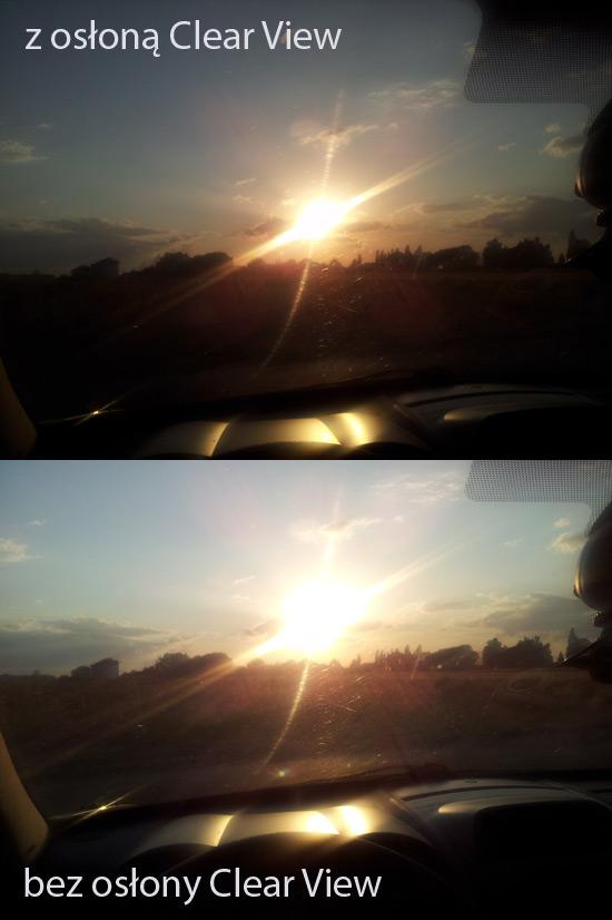 Osłona Clear View