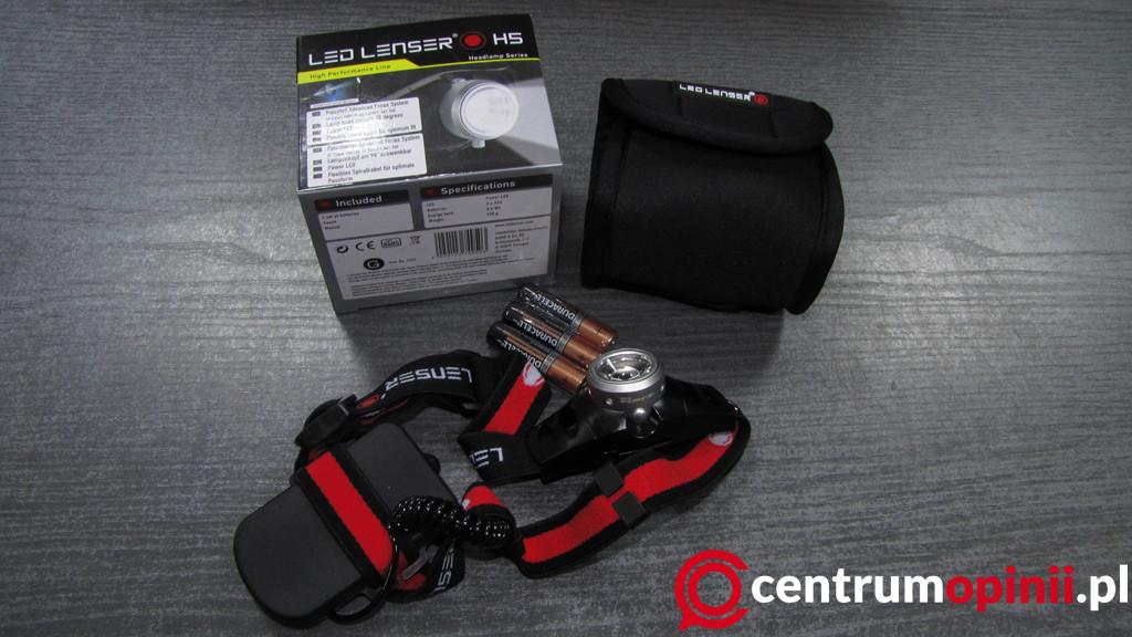latarka czołowa led lenser h5 opinie