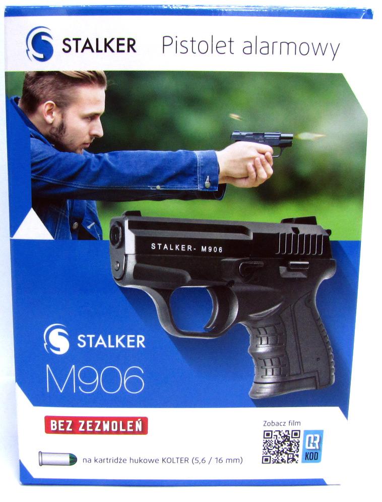 pistolet hukowy stalker M906
