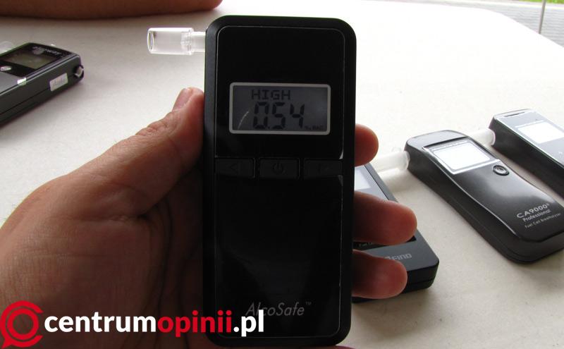 alkomat alcosafe s4 black test