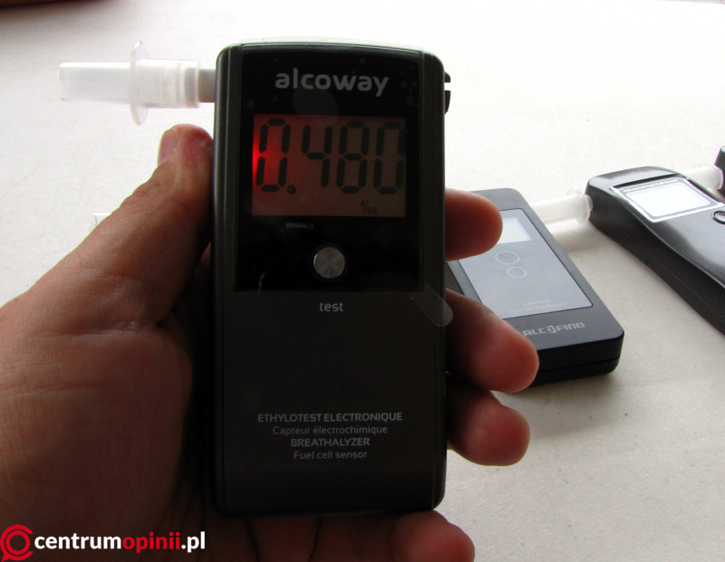 alkomat alcoway test