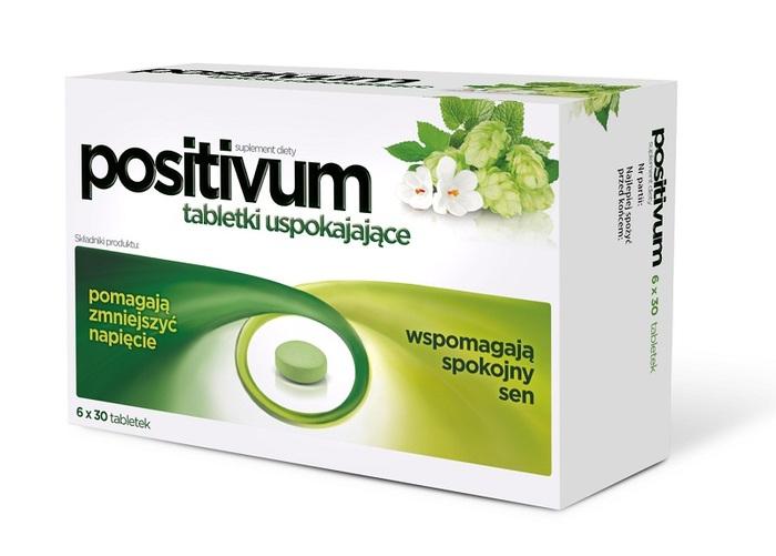 Positivum tabletki uspokajające
