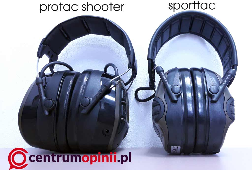 Peltor ProTac Shooter w porównaniu z SportTac