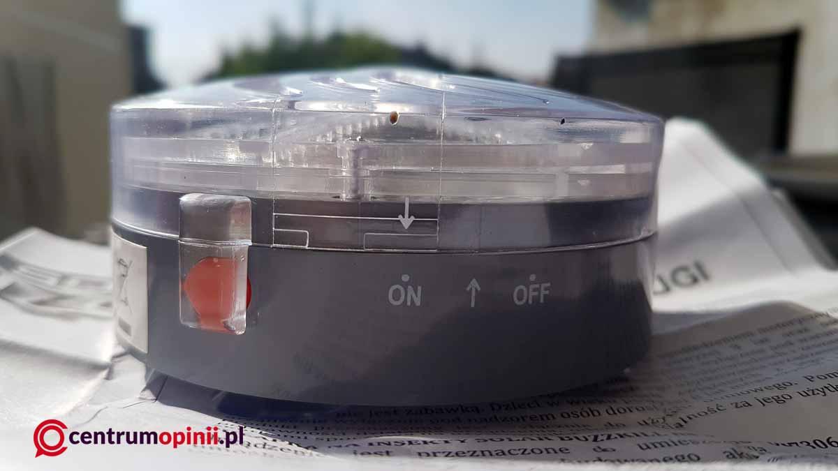 Solar BuzzKill pułapka na insekty opinie
