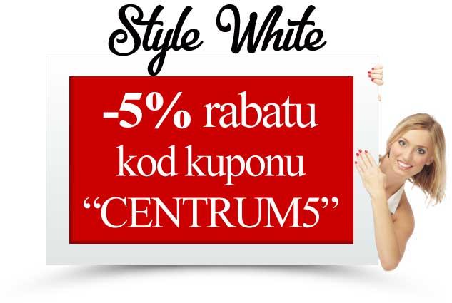 style white kod rabatowy kupon