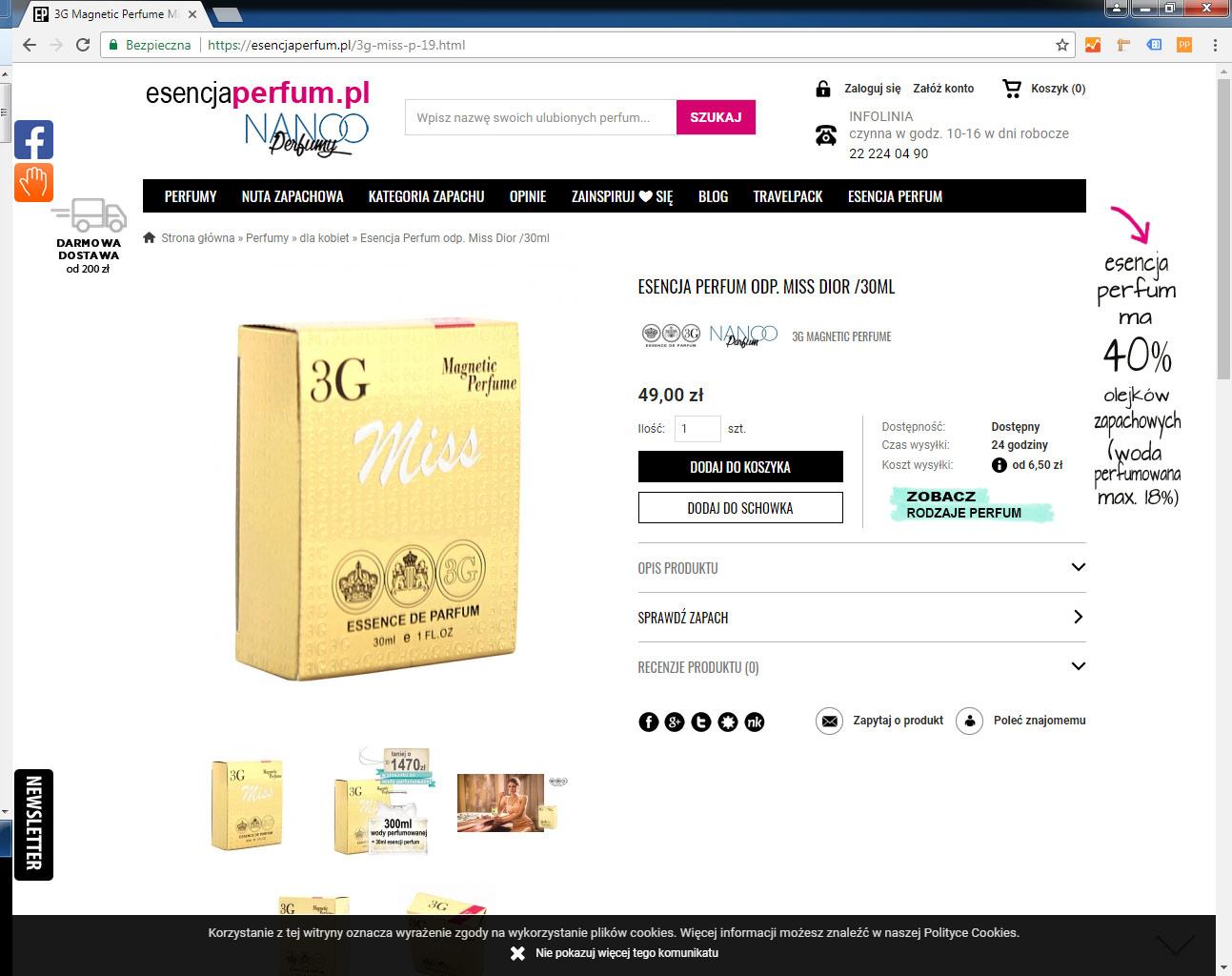 Esencja perfum opinie forum