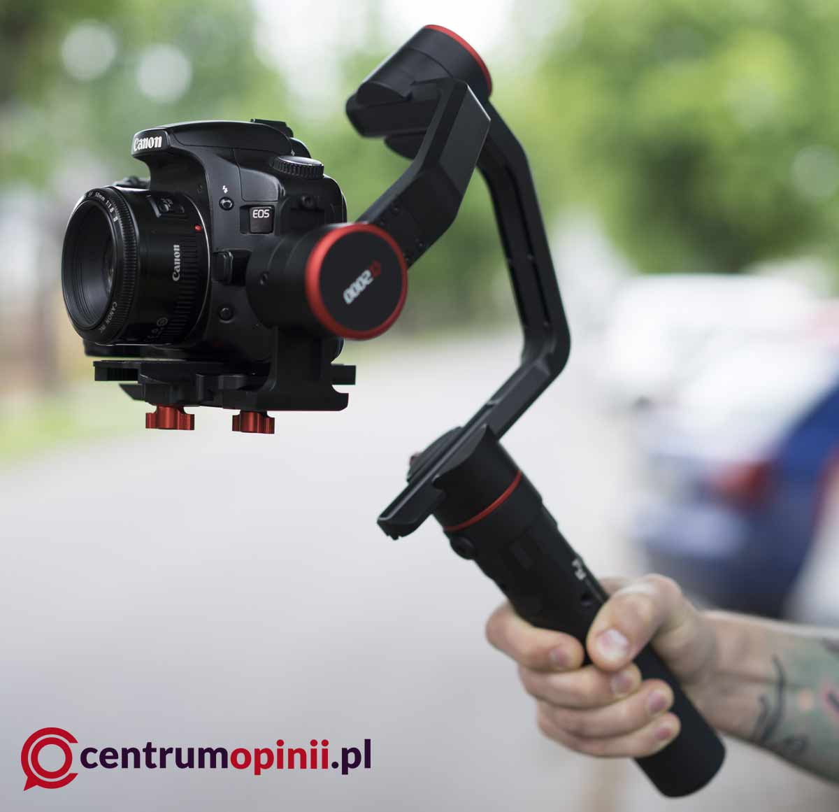 Gimbal do aparatu Feiyu-Tech A2000 opinie
