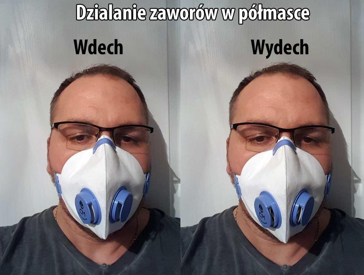 Maski antysmogowe opinie