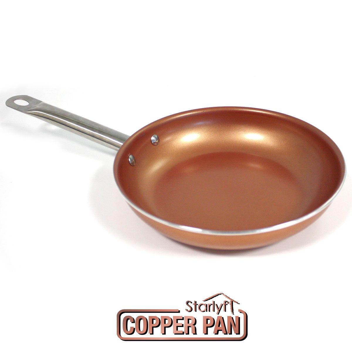 Starlyf Copper Pan – patelnia 28 CM opinie