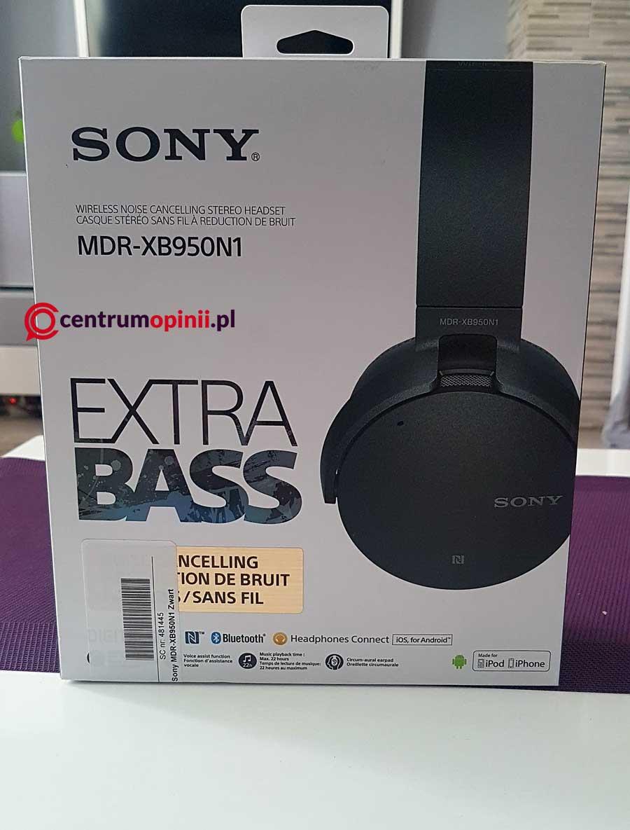 Słuchawki SONY MDR-XB950N1 opinie