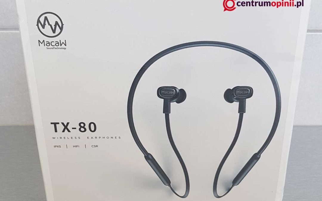 Słuchawki Macaw TX-80 opinie