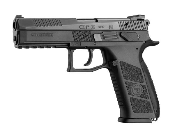 Pistolet bojowy CZ P-09 9 mm 9×19 Opinie