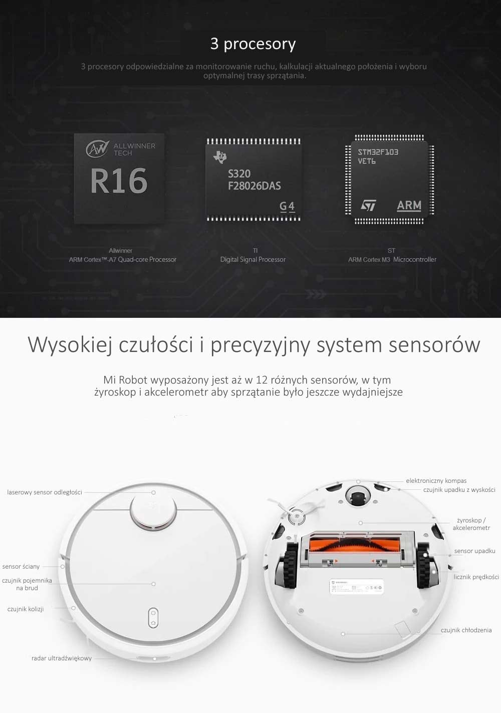 Xiaomi Mi Robot Sprzątający opinie