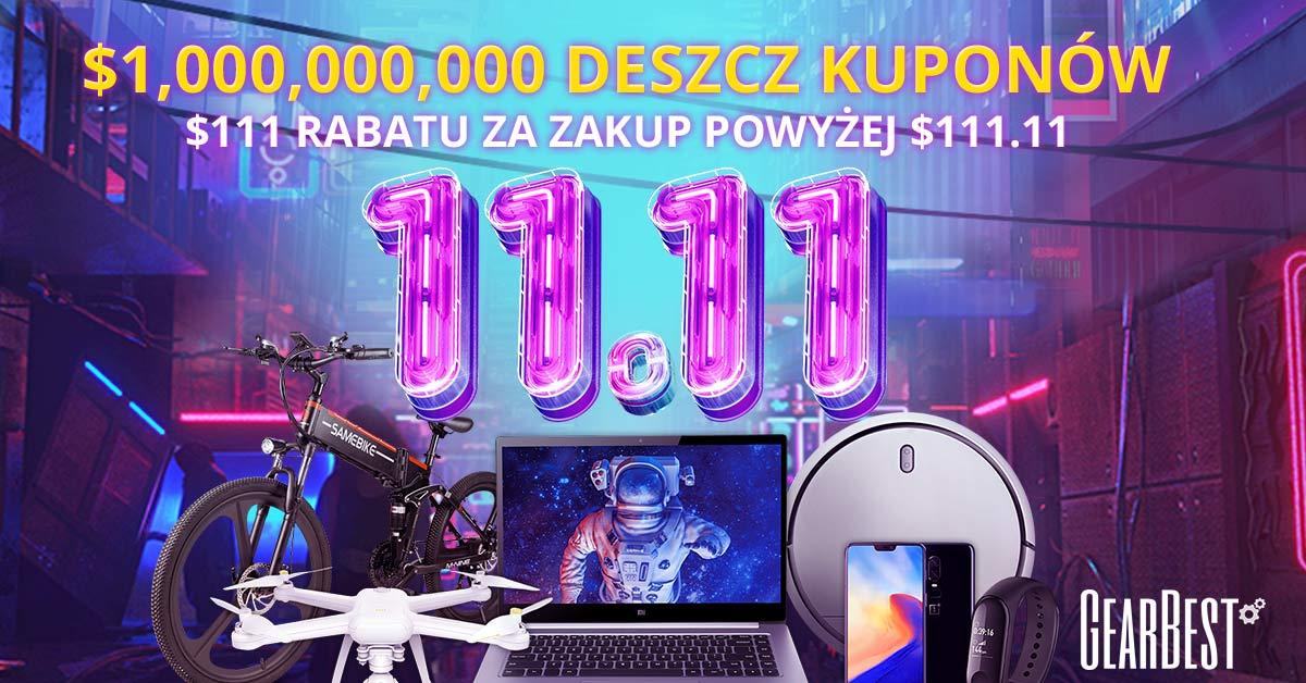 Sklep Gearbest w polskiej wersji językowej – wysyłka z Polski