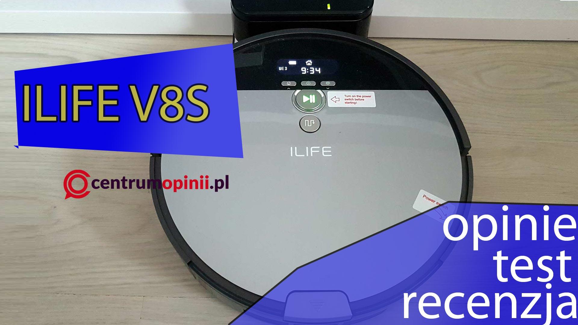 Ilife V8s opinie test i recenzja automatycznego robota sprzątającego