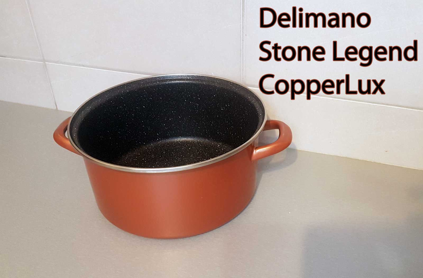 Garnek Delimano Stone Legend Copperlux