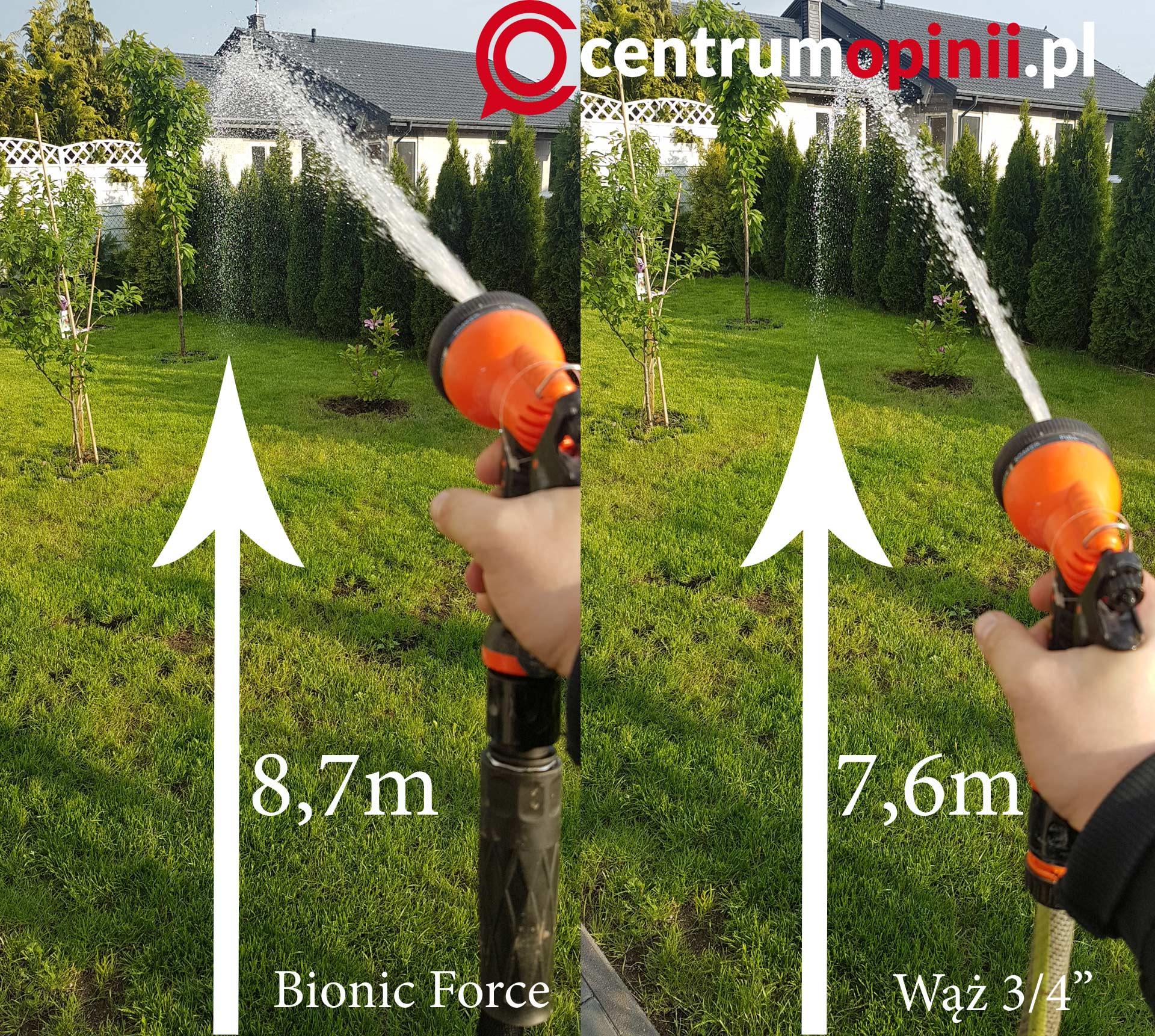Bionic Force wąż ogrodowy opinie test i recenzja