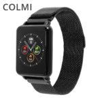 COLMI ziemi 1 pełny zegarek smart watch z ekranem dotykowym IP68 wodoodporna Bluetooth sport tracker fitness mężczyzn smartwatch dla iOS telefonu z systemem Android promocja na Aliexpress