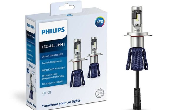 LED firmy Philips H4 H7 9003 Ultinon Essential LED samochodów Hi/lo Beam 6000 K jasna biała żarówka auto reflektor H8 H11 H16 9005 9006 HB3 HB4 okazja na Aliexpress