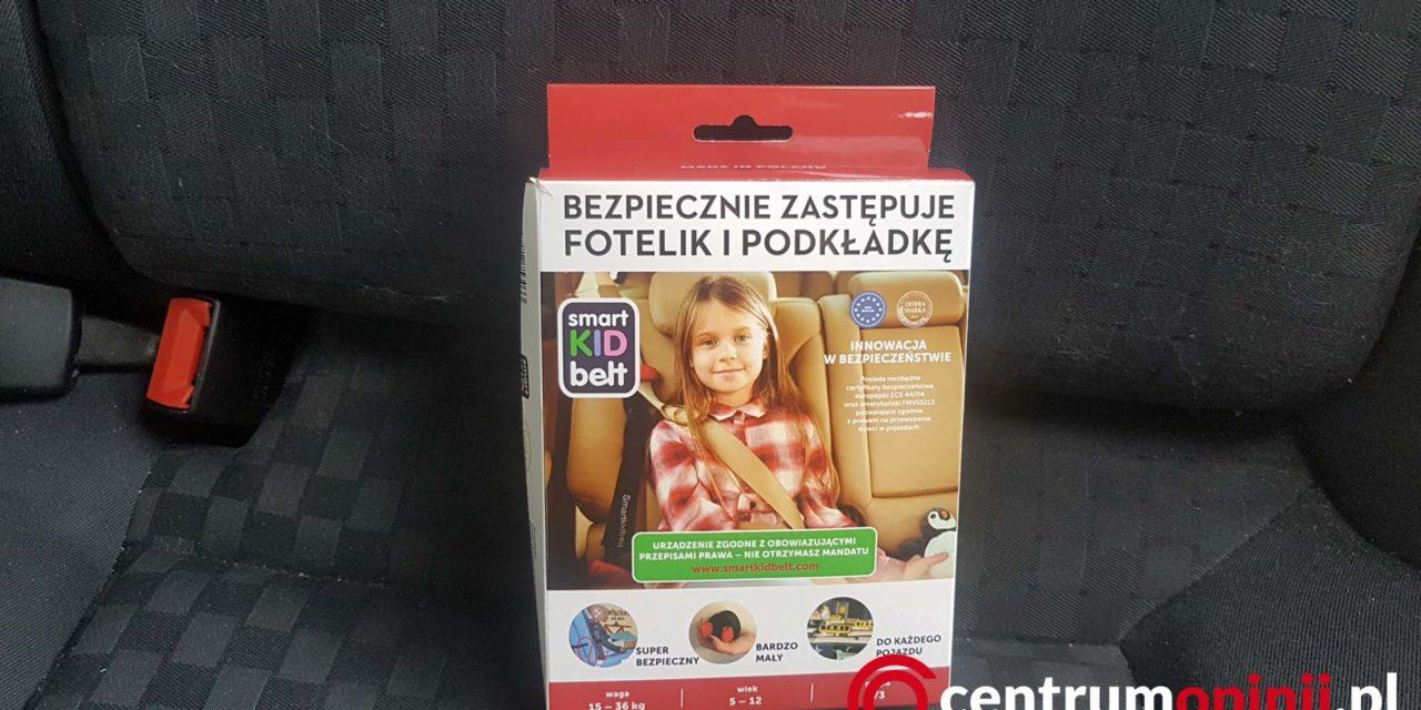 Smart Kid Belt recenzja i opinie o pasie samochodowym dla dziecka