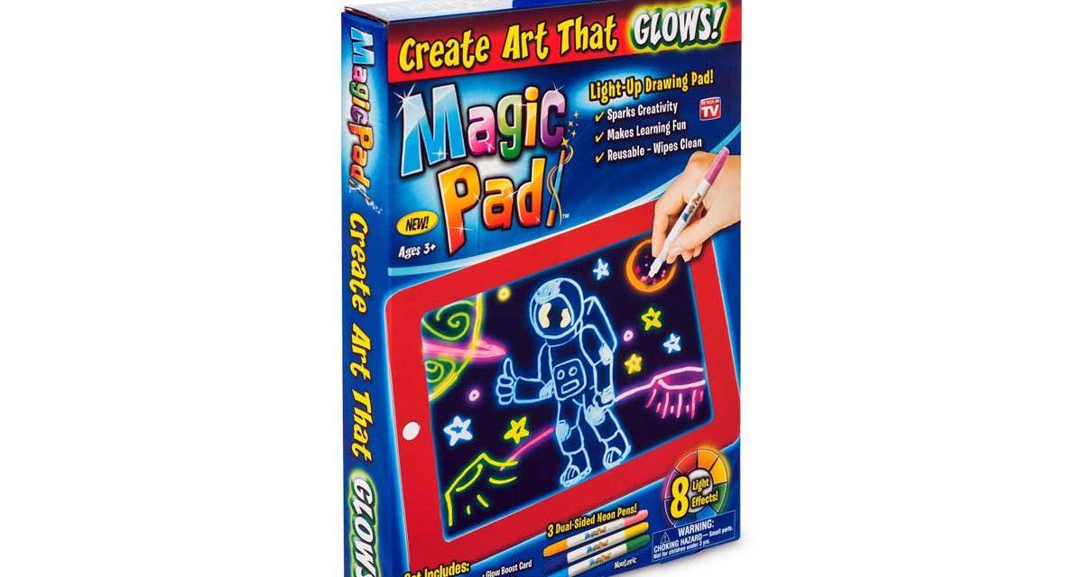 Magiczny tablet do rysowania z podświetleniem Magic Pad opinie