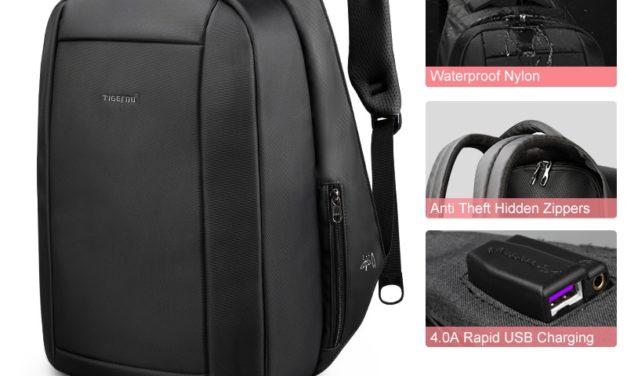 Tigernu ukryte Anti theft zamek 15.6 cal mężczyźni szkoła plecaki na laptopa wodoodporny podróży 20L wielofunkcyjna ładowarka USB mężczyzna Mochila okazja na Aliexpress