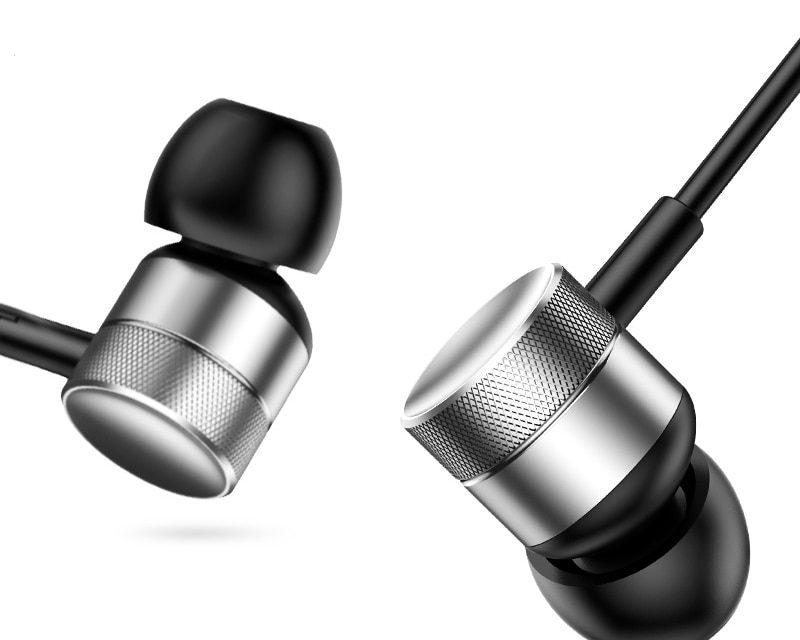 Baseus H04 przewodowy słuchawka do telefonu iPhone Xiaomi Samsung Huawei zestaw słuchawkowy słuchawki douszne z mikrofonem w zatyczki do uszu słuchawki douszne okazja na Aliexpress