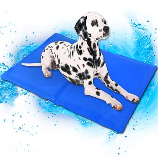 Pies mata chłodząca Pet Ice Pad Teddy materac zwierzęta domowe są mata chłodząca łóżko dla kota poduszki lato zachować zimną krew zwierzęta domowe są żel chłodzący mata dla psa dla psy XL XXL