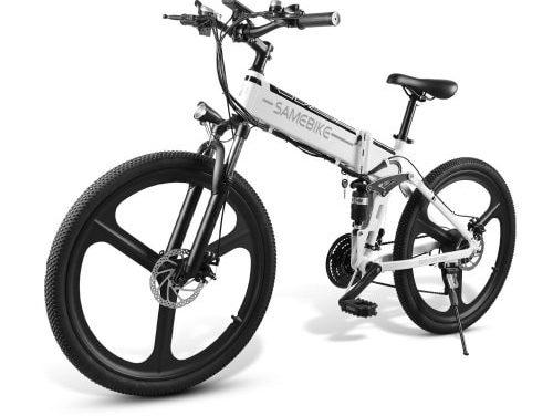 Samebike LO26 Moped Electric Bike Smart Składany rower E-bike teraz taniej w sklepie Gearbest