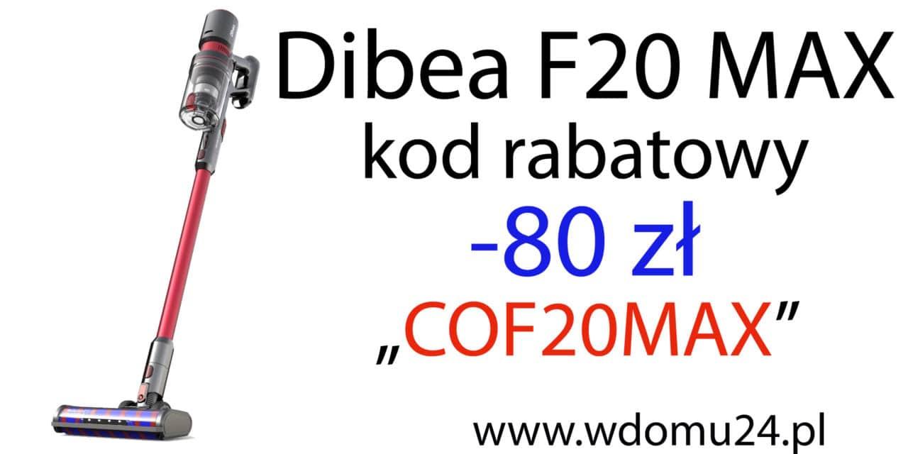 Dibea F20 Max opinie test i recenzja pionowego odkurzacza ręcznego
