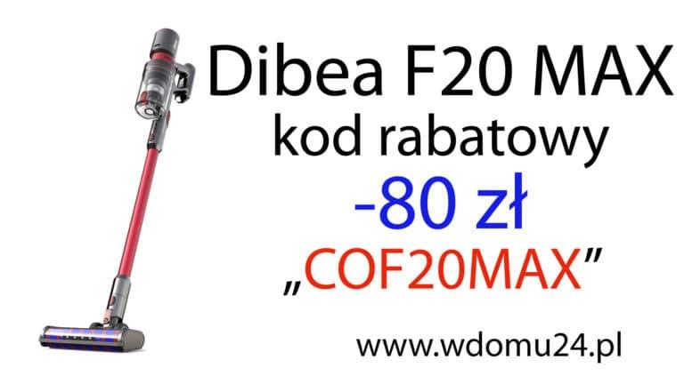 Dibea F20 Max opinie test i recenzja