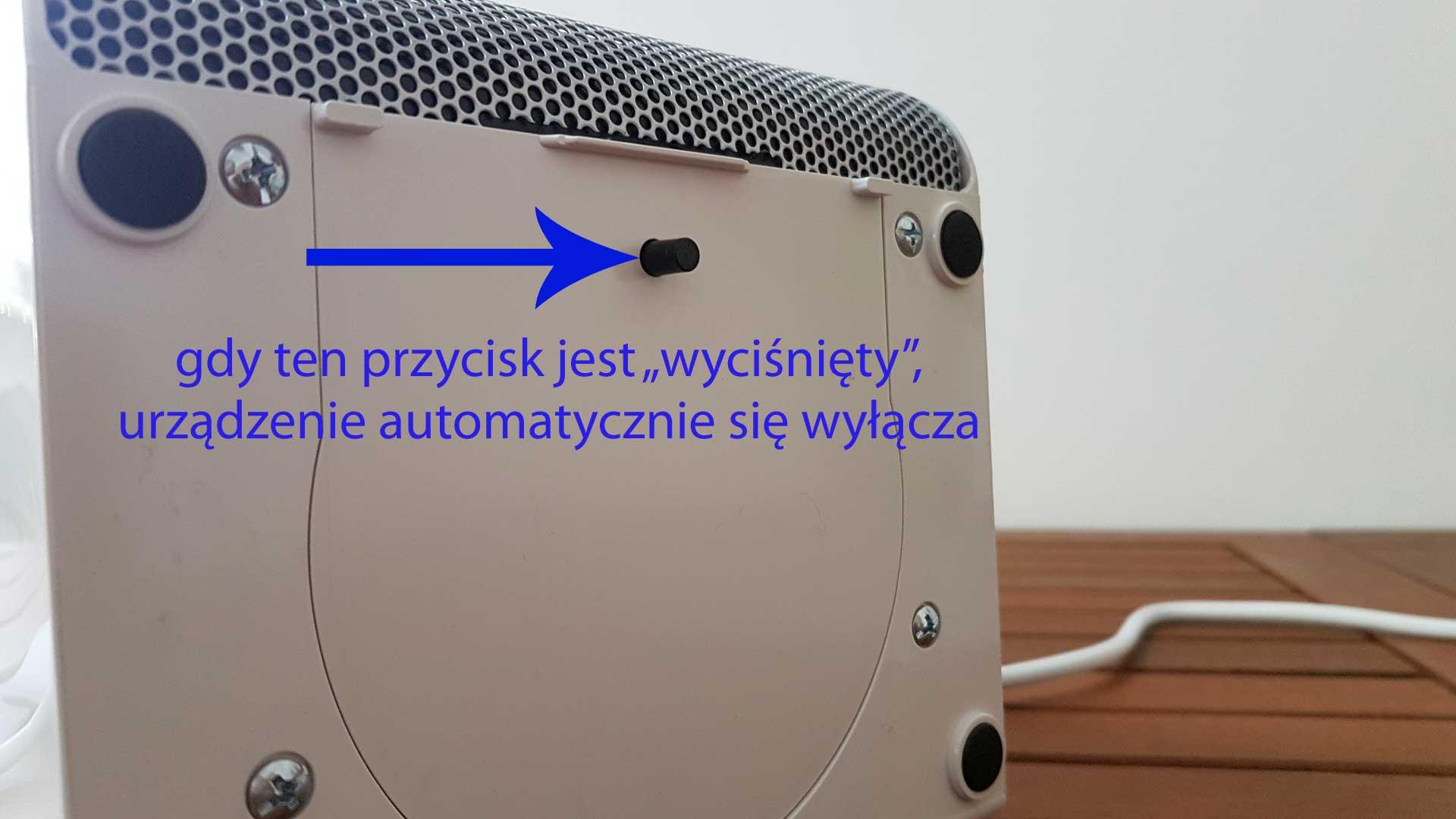 Grzejnik Rovus Ceramic Heater opinie test i recenzja
