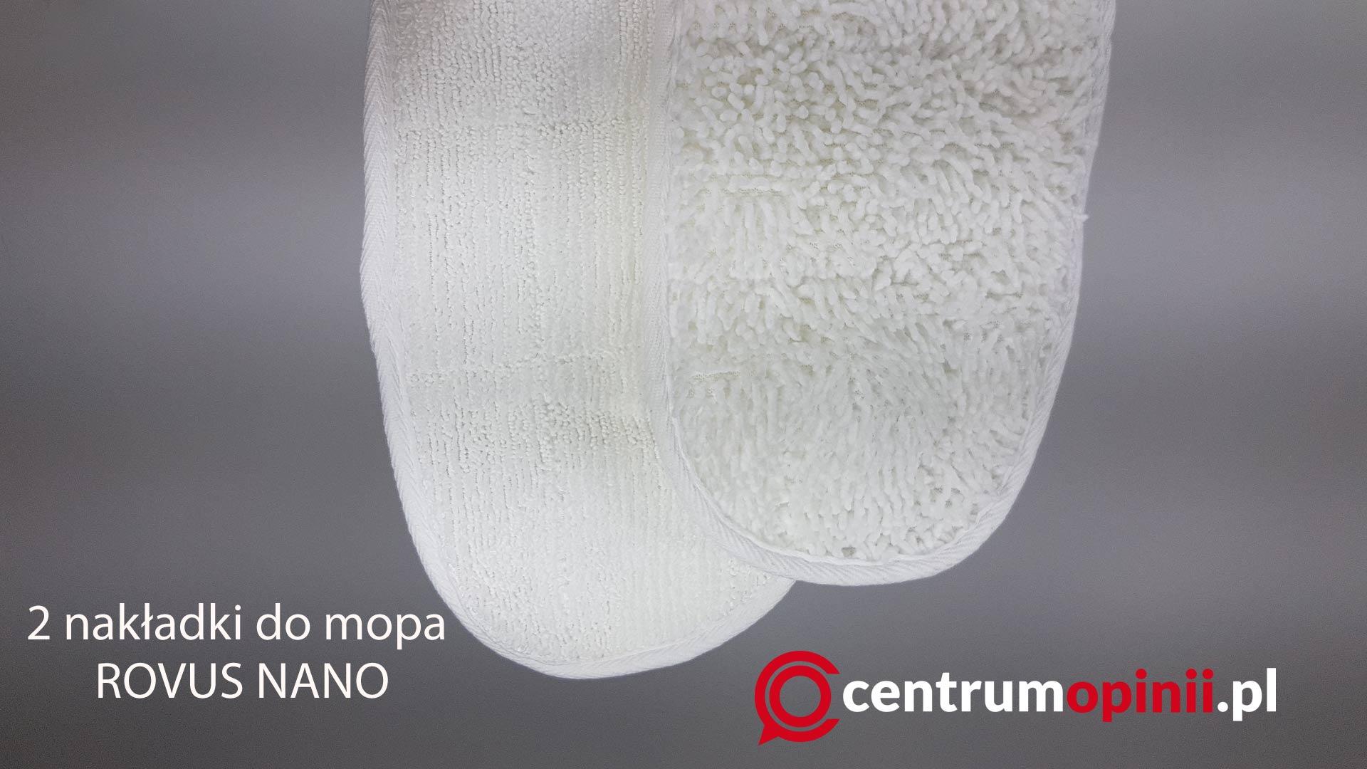 Nakładki do mopa Rovus Nano