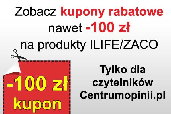 Kody rabatowe na odkurzacze Ilife/ZACO