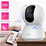 Камера видеонаблюдения SDETER, беспроводная инфракрасная камера безопасности с функцией ночного видения, 1080 пикселей, 720 пикселей, поддержка Wi Fi, P2P, радионяня, для домашних животных|Камеры видеонаблюдения| | АлиЭкспресс wyprzedaż na Aliexpress