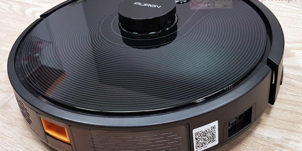 Recenzja robota PURON PR10 z laserową nawigacją i funkcją mopowania