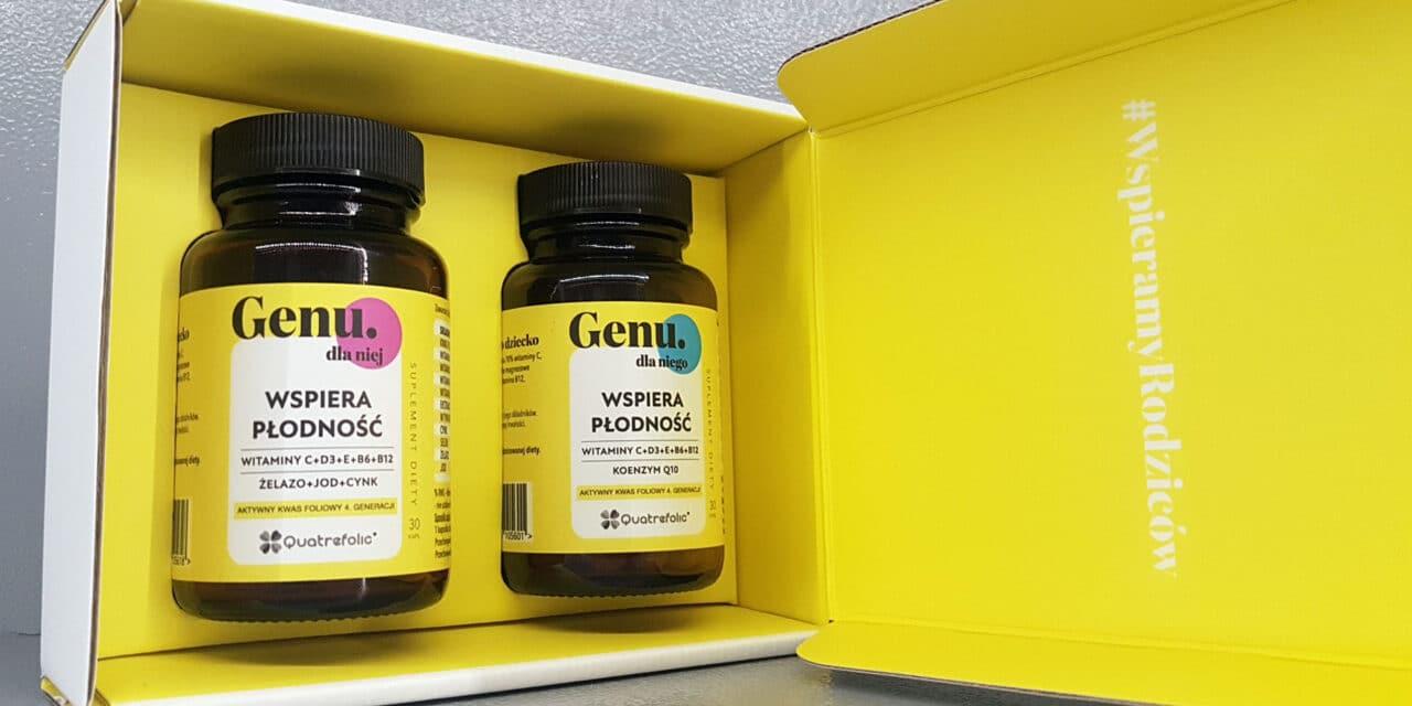 GENU, czyli suplementy wspierające płodność dla kobiet i mężczyzn