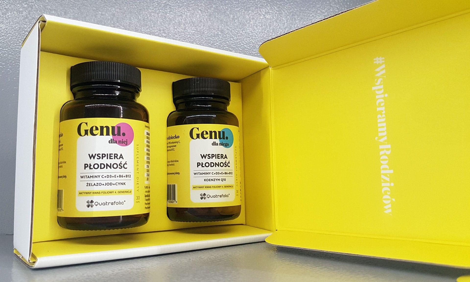Genu - suplementy diety na płodność